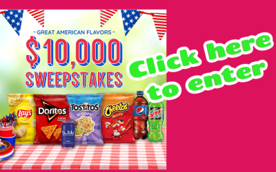 Enter for a Chance to Win $10.000 from Pepsi