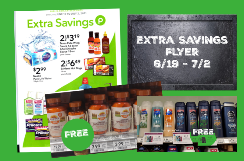 Extra Savings Flyer 6/19 to 7/2/21