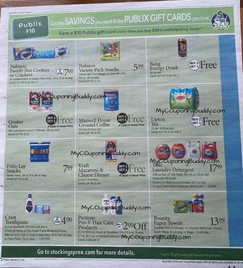 Early Ad Preview Publix Weekly Sale 8/4/21 to 8/10/21