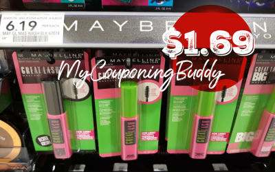 Maybelline Mascara as low as $1.69 at Publix