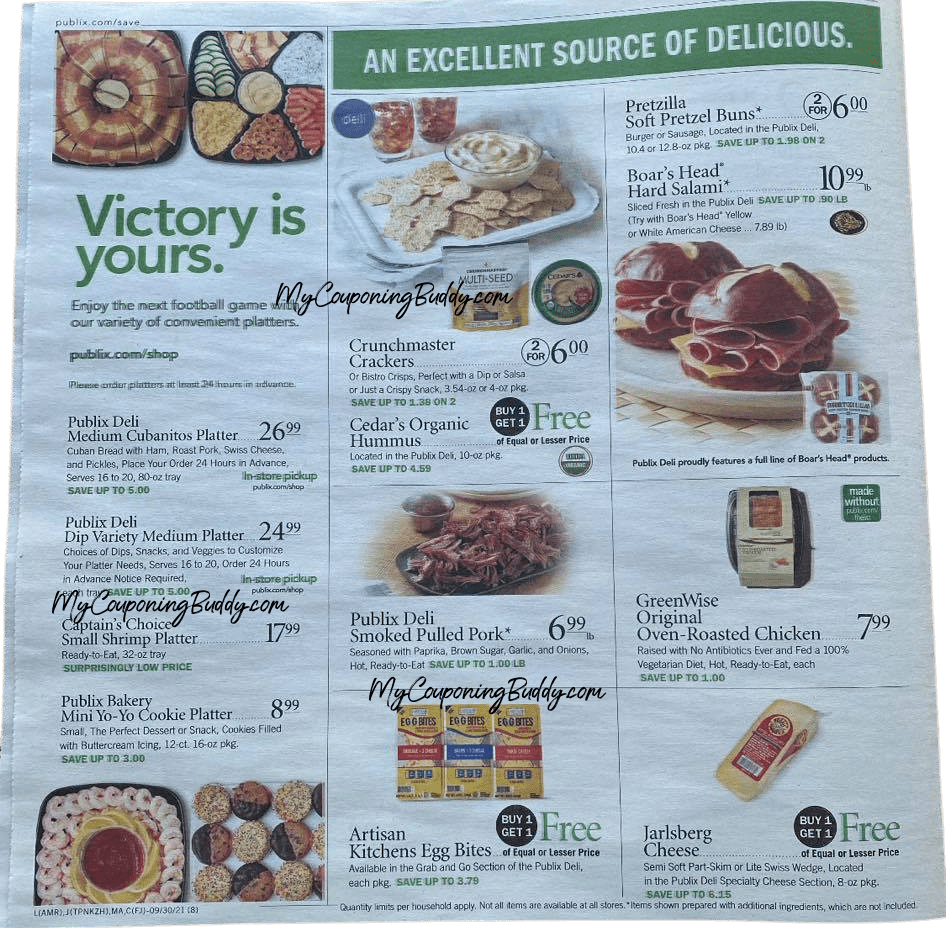 Early Ad Preview Publix Weekly Sale 9/29/21 - 10/5/21 (or 9/30 - 10/6)