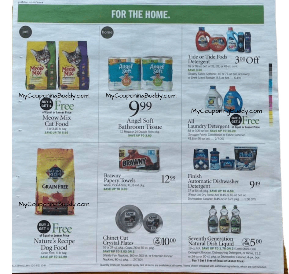 Publix Weekly Ad 10/13/21 – 10/19/21