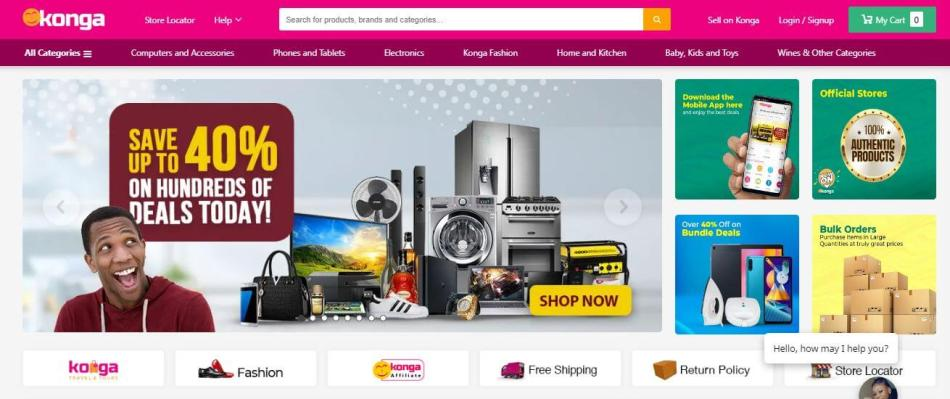 Konga Official Website