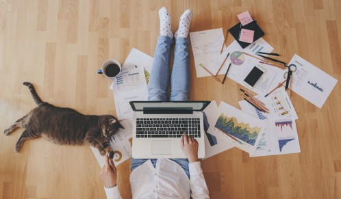 Keeping healthy and getting into a routine will ensure you have a productive and rewarding experience of working from home. Here are the key tricks