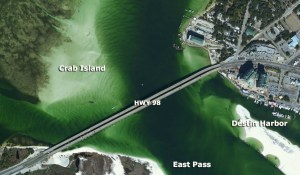 Destin Island Florida Map | Wiring Library