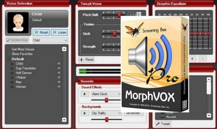MorphVox Pro v5.0.10.20776 Crack With Registration Key Free Download