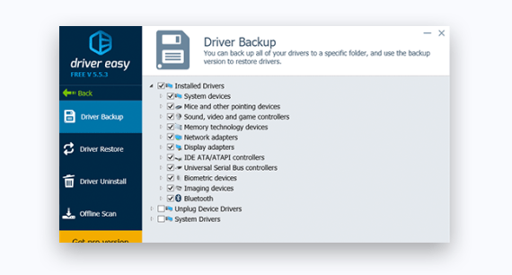 Driver Easy Pro v5.6.15 Crack With License Key Free Download