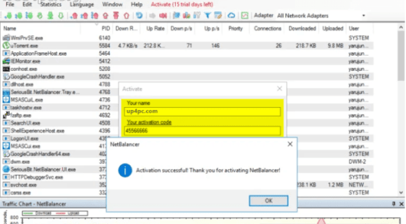 NetBalancer 10.2.6 Crack With Latest License Key Free Download