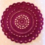 Plum Mandala | MyCraftyMusings