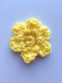 Teeny Tiny Flower (Pattern By Attic24) | MyCraftyMusings