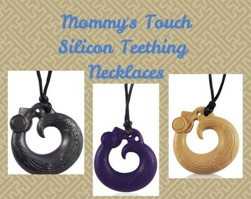 Mommy's Touch Silicone Teething Necklace! You Can't Miss This!