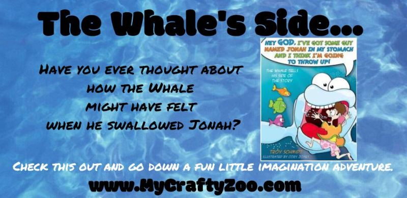 The Whale's Side of the Story! A Children's Book by @troyeschmidt