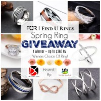 The Find U Rings Spring Ring Giveaway @findurings @SMGurusNetwork