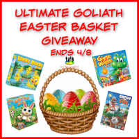 Ultimate Goliath Easter Basket #Giveaway @SMGurusNetwork