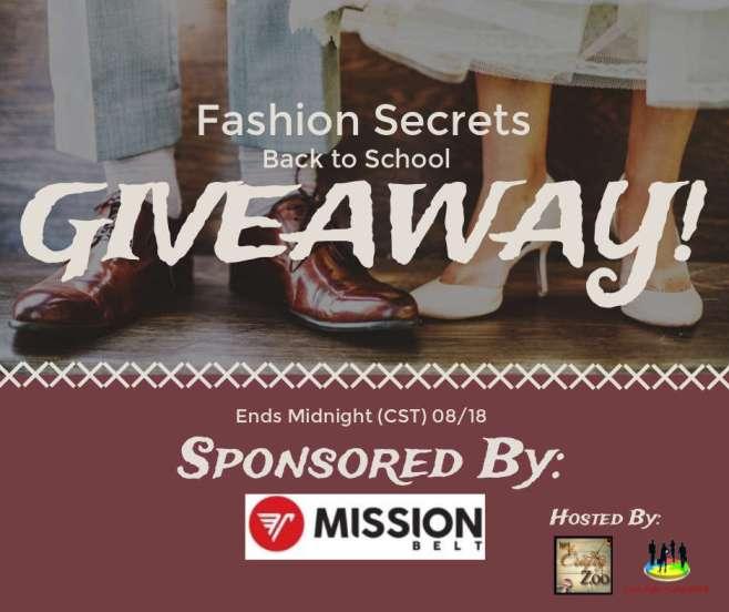 Fashion Secrets Back to School Giveaway