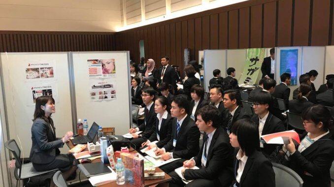 Job Fair et entretiens d'embauches au Japon