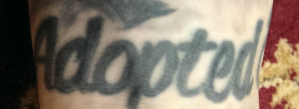 Adopted Tattoo