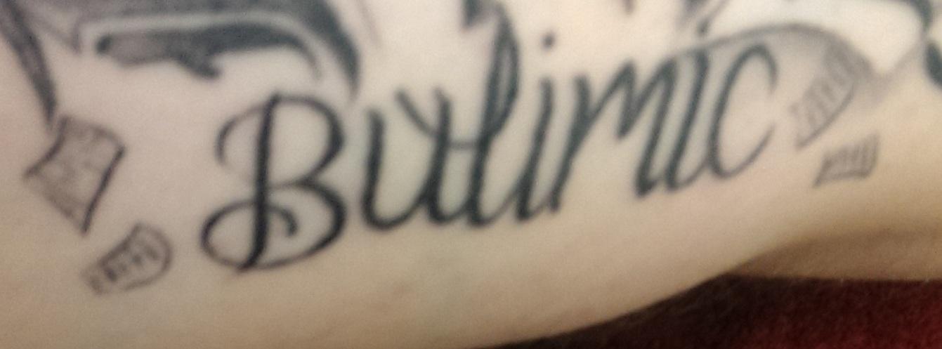 Bulimic Tattoo