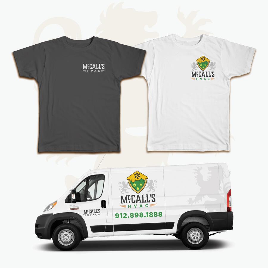 Custom Branding | McCalls HVAC