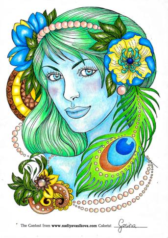 Contest by Nadiya Vasikova Coloured by Gesina
