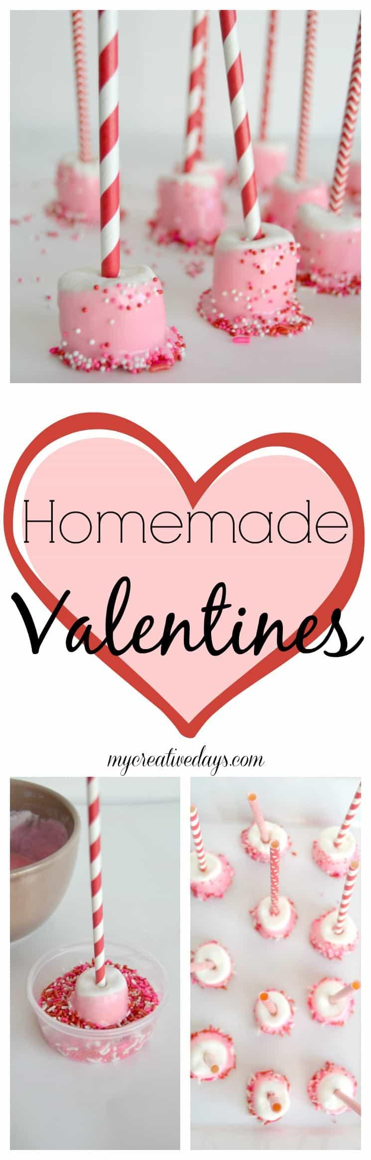 Homemade Valentines Marshmallow Treat Gifts My Creative