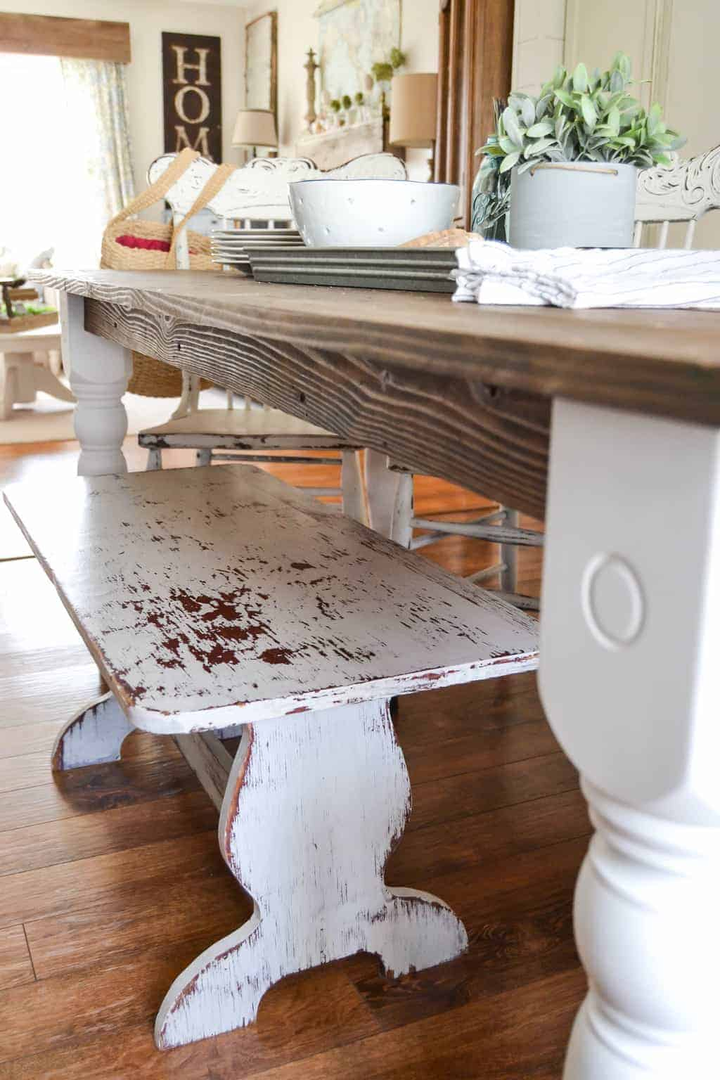 Farmhouse Table Diy Made From A Dumpster Find