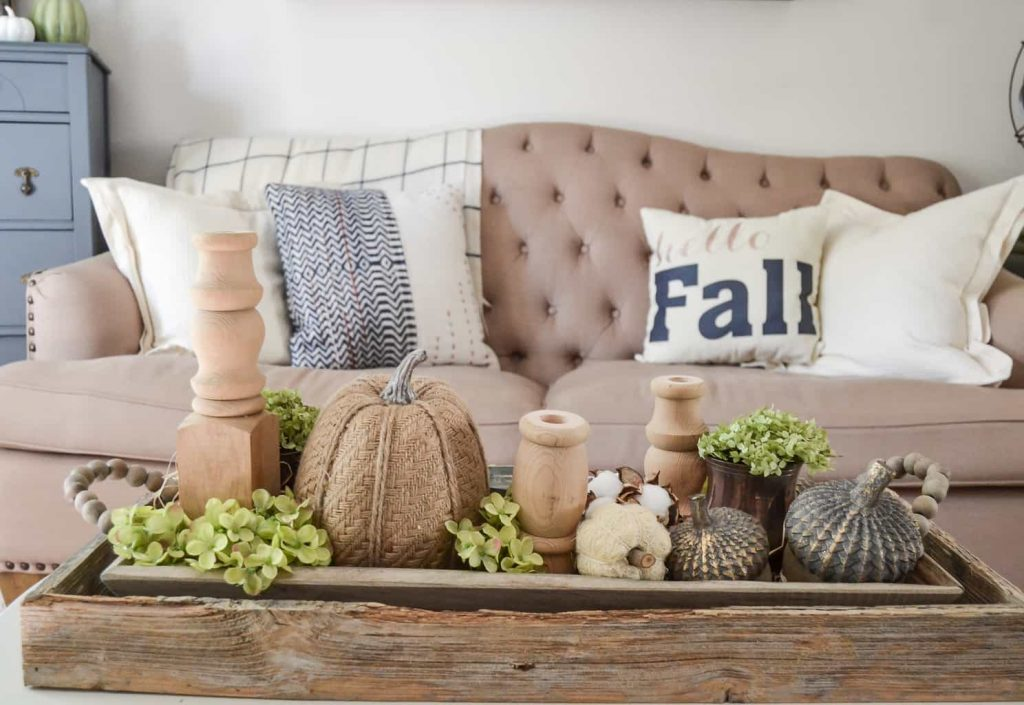 neutral fall home tour with kirklands