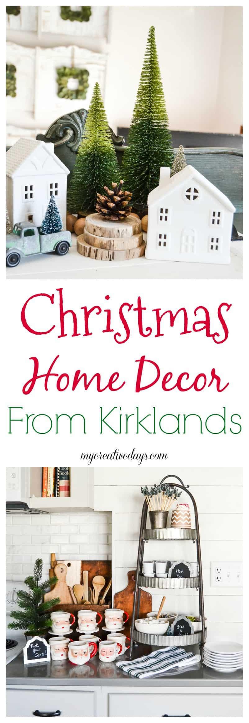 Christmas Home Decor From Kirklands - My Creative Days on Kirkland's Decor Home Accents id=66292