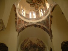 Ceiling art of the church