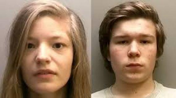 Lucas Markham and Kim Edwards Teen Killers