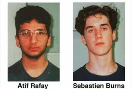 Sebastian Burns and Atif Rafay Teen Killers
