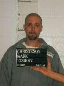 Mark Christeson execution photos