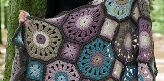 Crochet Gypsy Wagon Blanket Octagon Free Patterns