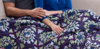 Brocade Throw Crochet Pattern