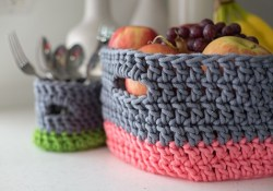 3 Most Unique Basket Crochet Pattern Basket Cases Crochet Pattern Download