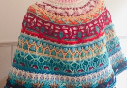 4 Cute Types of Crochet Accessories Free Pattern Round Poncho Overlay Crochet Free Pattern Part 1 Clearlyhelena