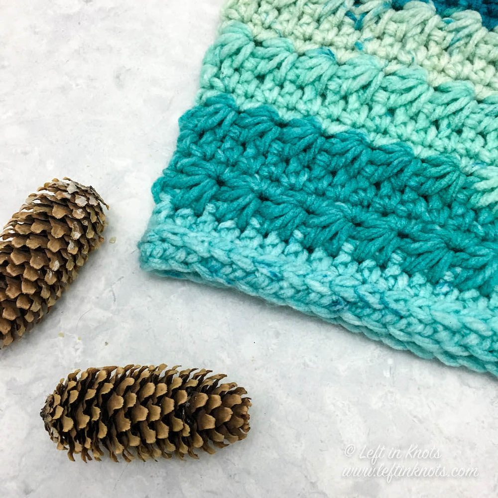 4 Delicious Designs of Caron Cake Crochet Pattern Crochet Snow Drops Chunky Cowl Free Pattern Left In Knots