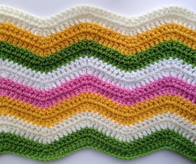 A Chevron Crochet Blanket Basic Guide Ripple Crochet Pattern Tutorial And Expert Advice