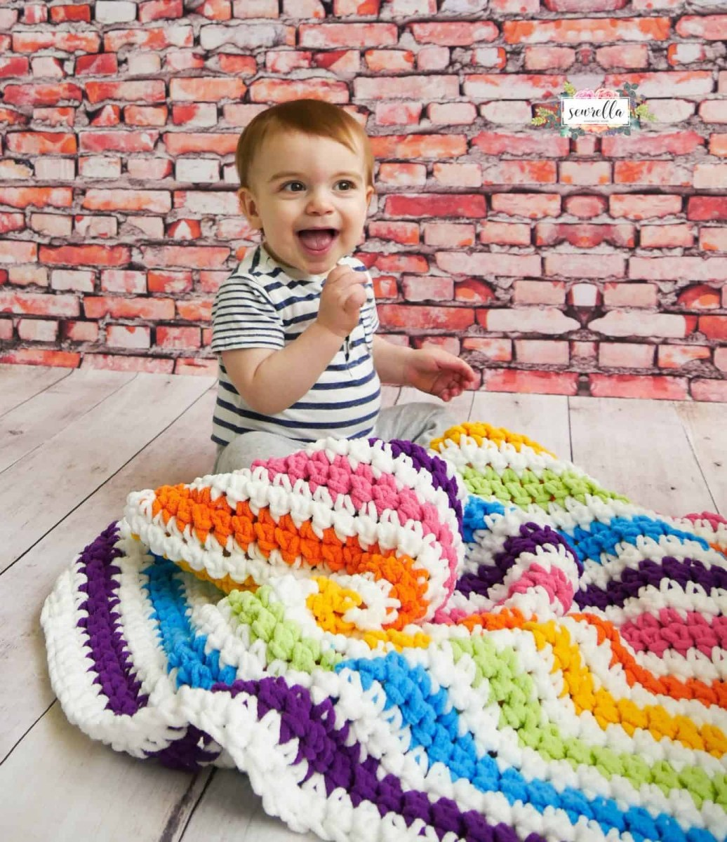 Basic & Standard Patterns for Boy Blanket Crochet Stripe Crochet Ba Blanket Patterns To Add A Pop Of Color