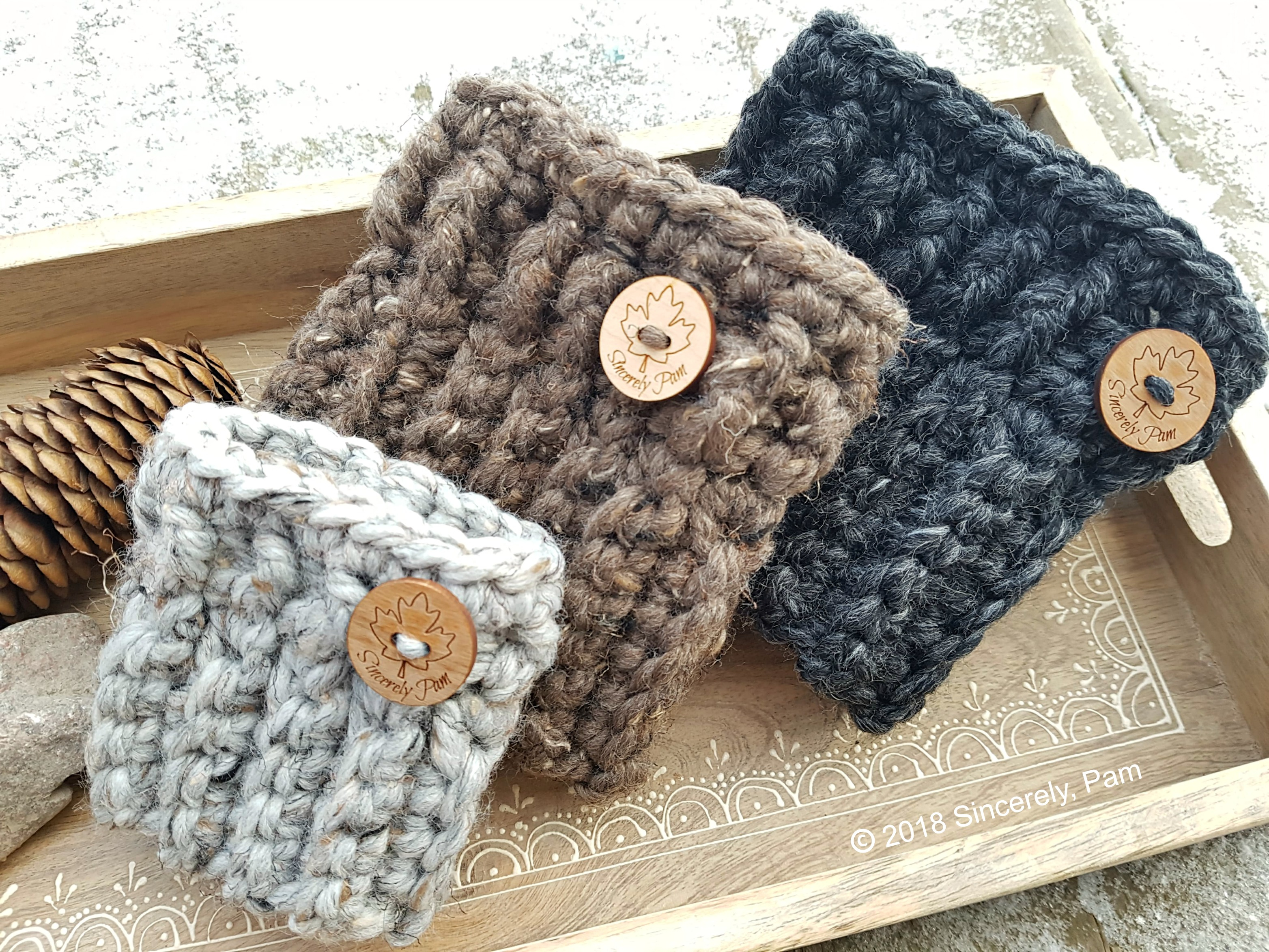 Best Products to Make with the Chunky Yarn Crochet Pattern Chunky Boot Cuffs Free Pattern Sincerely Pam
