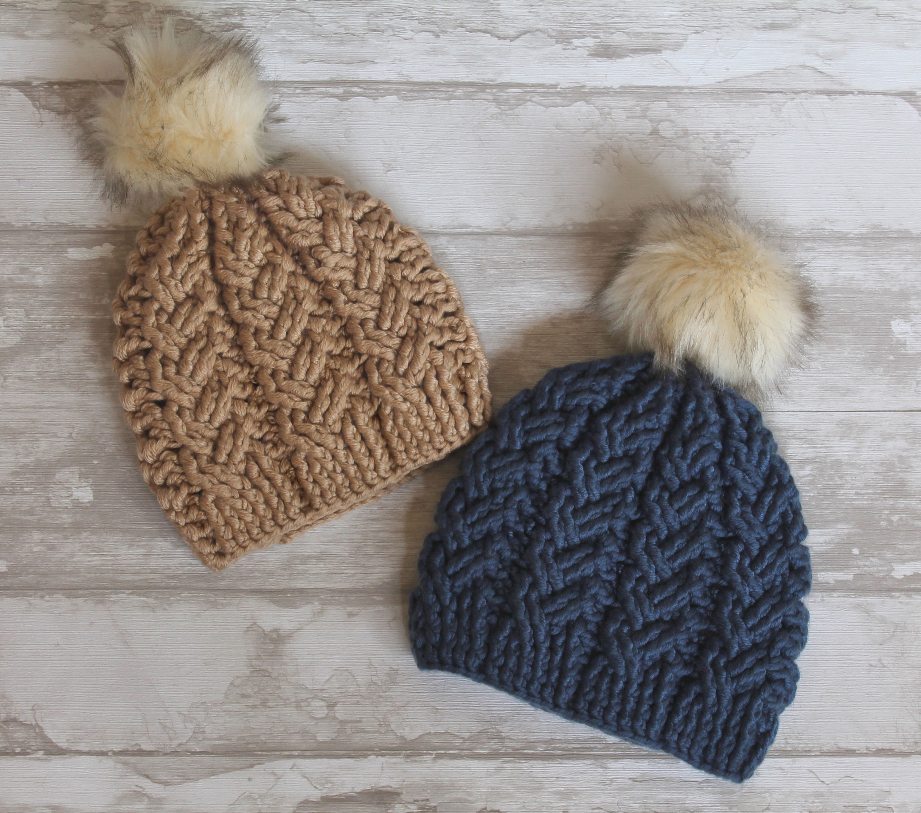 Best Products to Make with the Chunky Yarn Crochet Pattern Crochet Pattern Brooklyn Cables Beanie Chunky Yarn Crochet Pattern Chunky Cables Beanie Hat Cable Stitches English Language Only