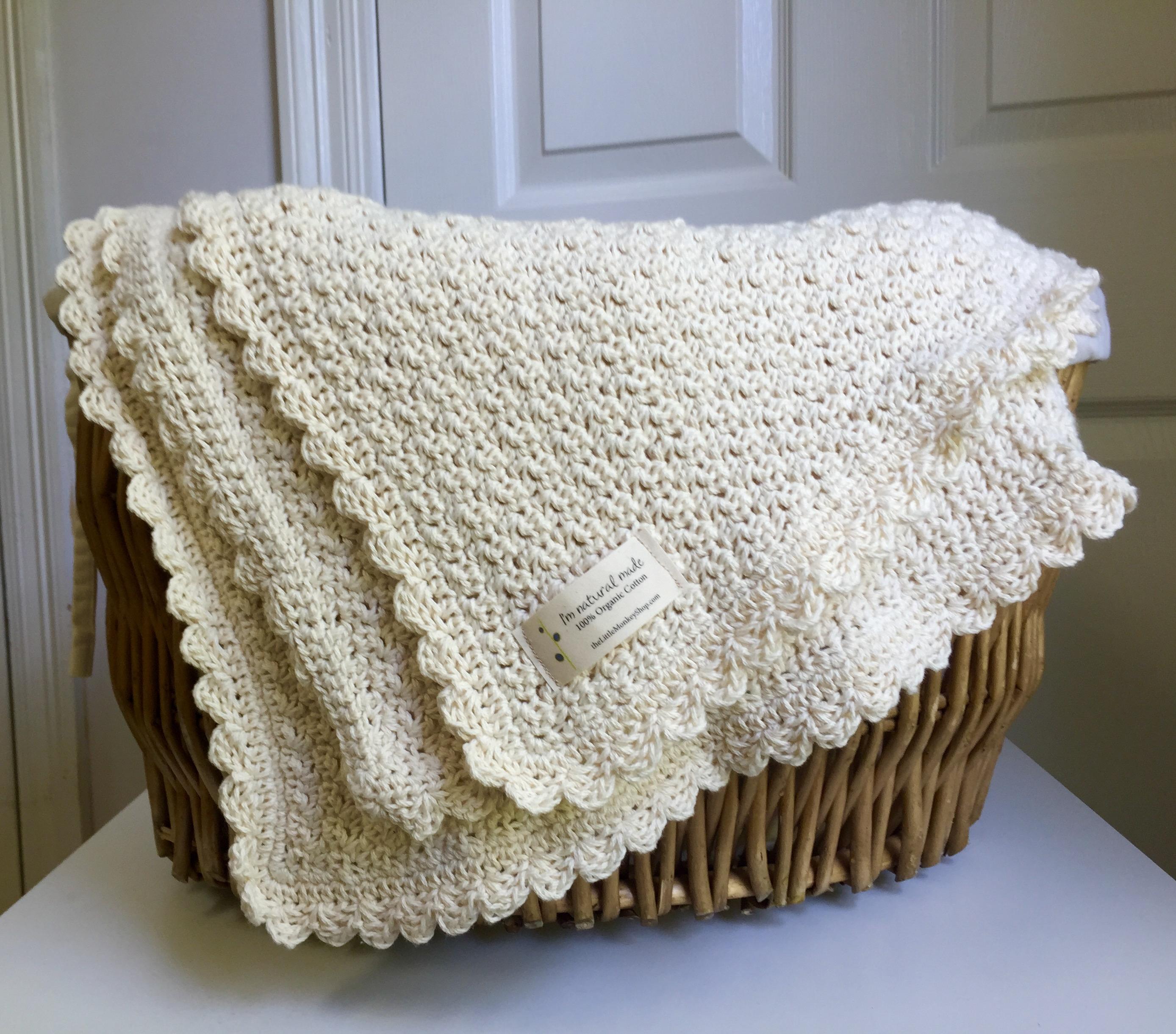 Blanket Crochet Pattern Ba Blanket Crochet Pattern Little Monkeys Designs