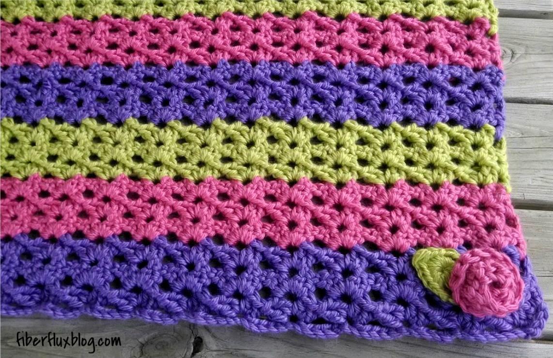 Blanket Crochet Pattern Fiber Flux Free Crochet Patternsorbetto Ba Blanket Play Mat