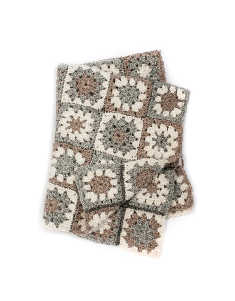Blanket Crochet Pattern Toft Blanket Crochet Project Granny Square Blanket British Wool