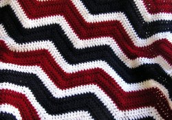 Chevron Crochet Afghan Patterns for Beginner Lovely New Chevron Zig Zag Patriotic Ba Blanket Afghan Wrap