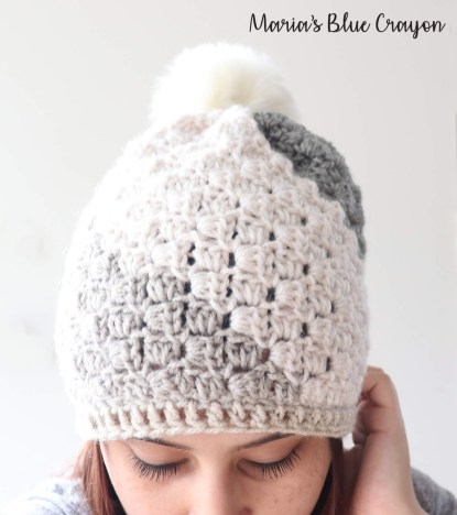 Crochet Beanie Pattern Dont Be A Square Beanie Free Crochet Hat Pattern Marias Blue