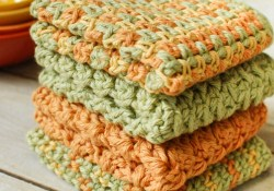 Crochet Dishcloths Free Patterns  4 Quick And Easy And Free Crochet Dishcloth Patterns