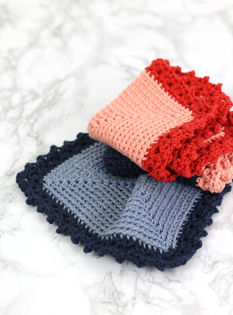 Crochet Dishcloths Free Patterns  Free Crochet Dishcloth Pattern Cottage Dishcloth Consumer Crafts
