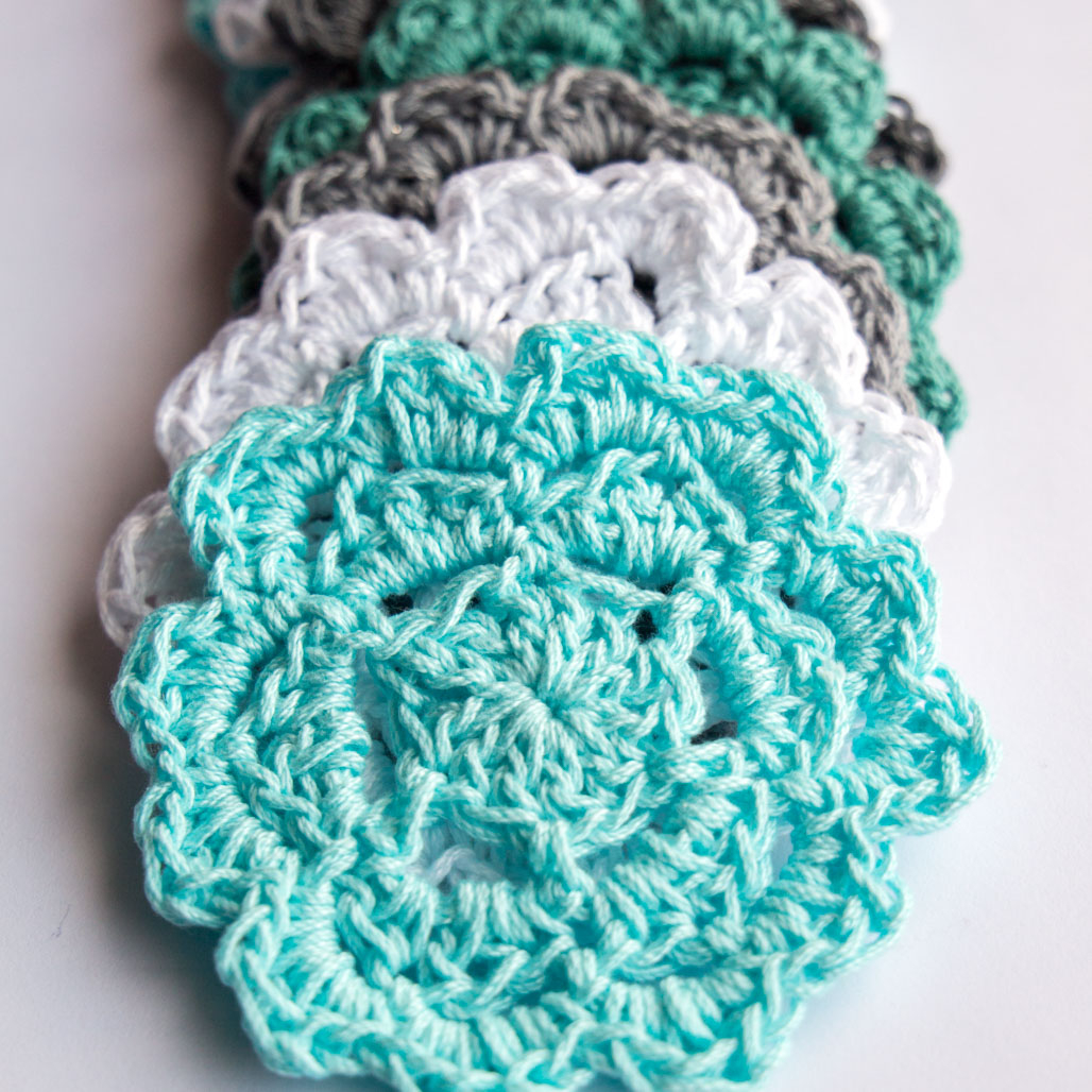 Crochet Dishcloths Free Patterns  Simple Shells Easy Free Crochet Dishcloth Pattern Sustain My Craft