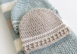 Crochet Easy Hat Pattern for Beginners Easy Striped Crochet Ba Hat Pattern Dabbles Babbles